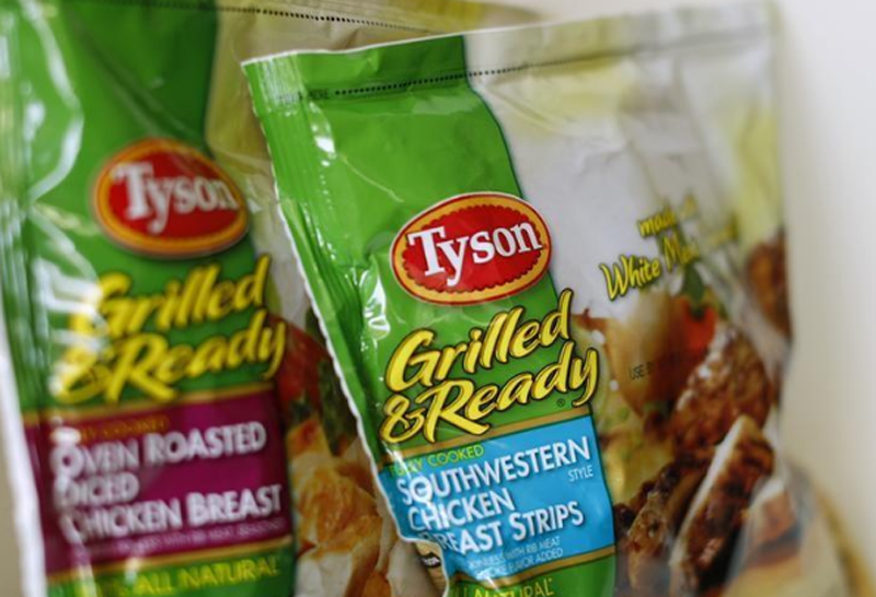 Tyson food meat products are shown in this photo illustration in Encinitas, California May 29, 2014. Photo: Reuters
