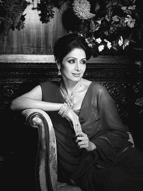 Bollywood actress Sridevi. Phtot: Twitter