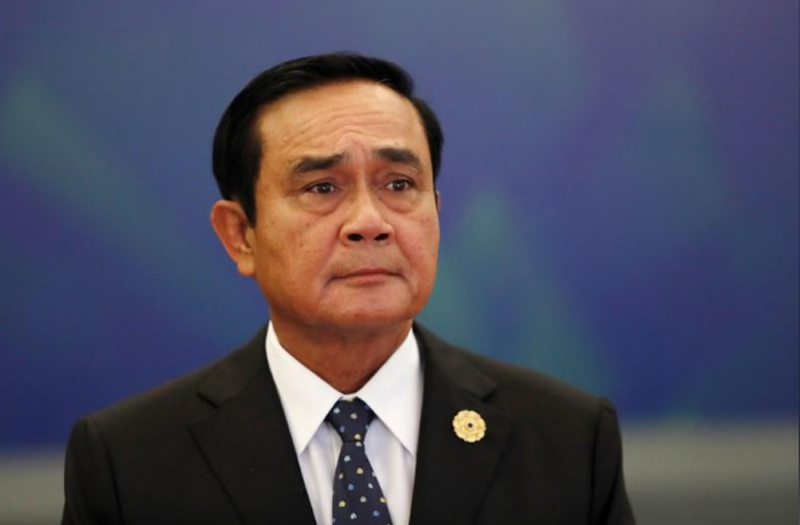 Thailand's Prime Minister Prayuth Chan-ocha attends the APEC Business Advisory Council dialogue during the APEC summit in Danang, Vietnam November 10, 2017. Photo: Reuters