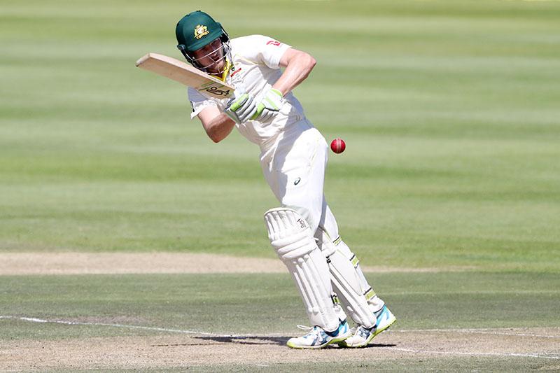 Australia's Cameron Bancroft in action batting. Photo: Reuters