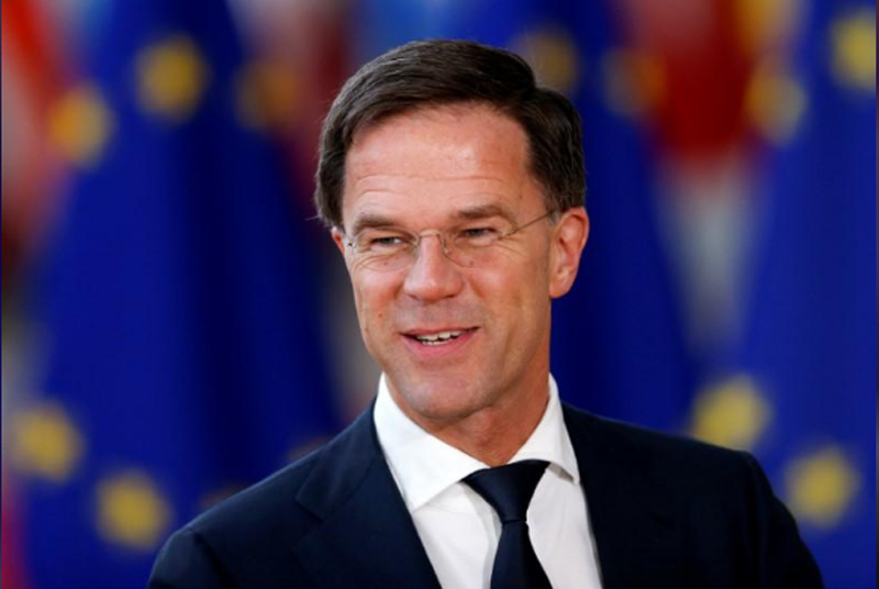 FILE-Netherlands' Prime Minister Mark Rutte arrives at a European Union leaders informal summit in Brussels, Belgium, February 23, 2018. Photo: Reuters