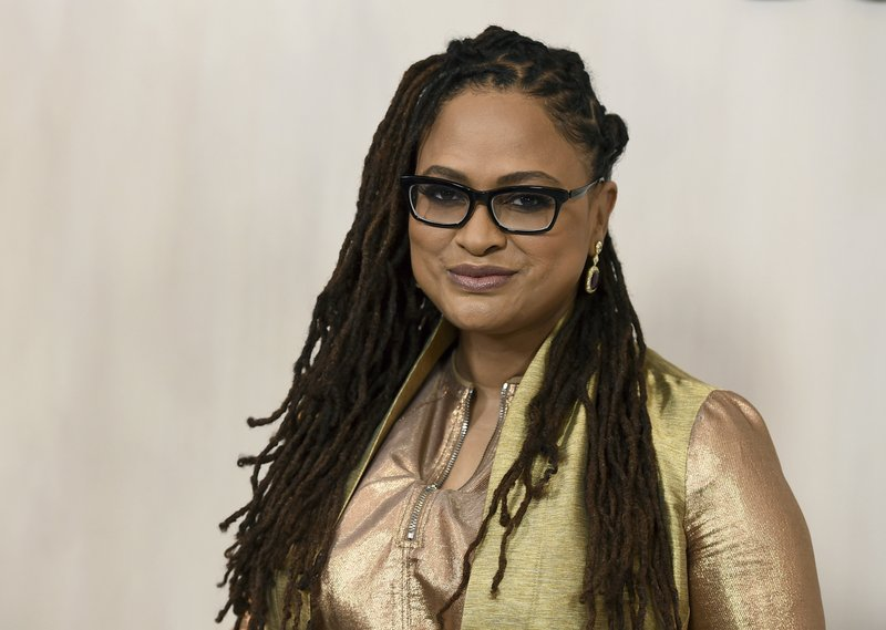 File - Ava DuVernay arrives at the 15th annual Hammer Museum Gala in the Garden in Los Angeles on Oct. 14, 2017 . Photo: AP