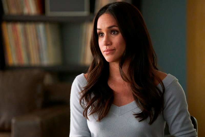File - In this file image released by USA Network, Meghan Markle appears in a scene from u201cSuits.u201d Photo: AP