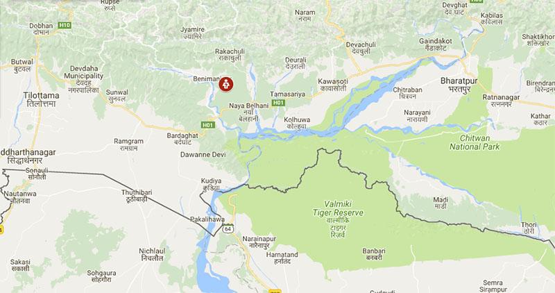 Nawalparasi map