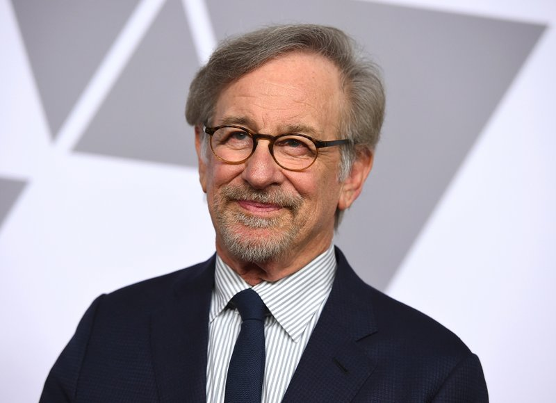 File - In this photo, Steven Spielberg arrives at the 90th Academy Awards Nominees Luncheon in Beverly Hills, Calif. Warner Bros on Feb. 5, 2018. Photo: AP