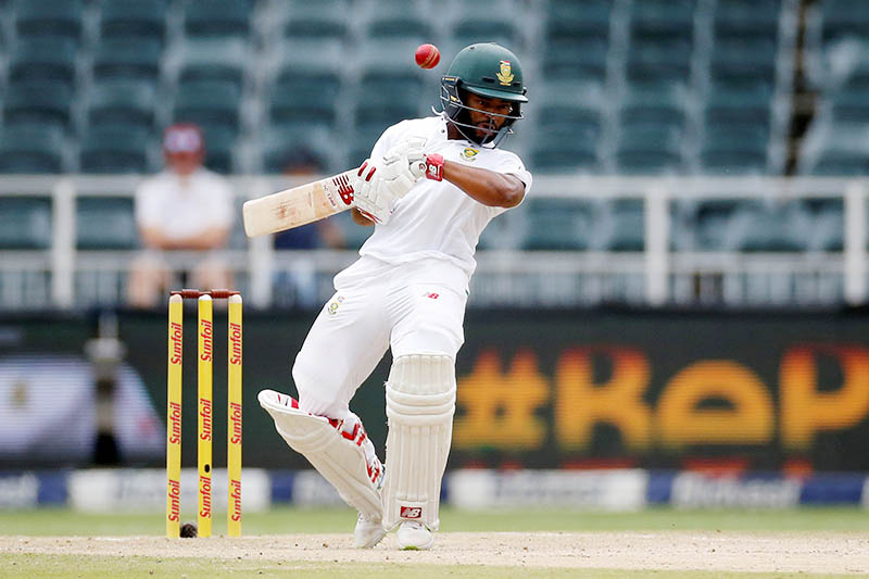 South Africa's Temba Bavuma in action. Photo: Reuters