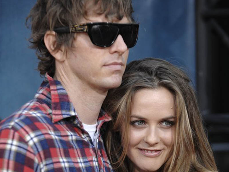 File: Alicia Silverstone and her husband. Photo: AP