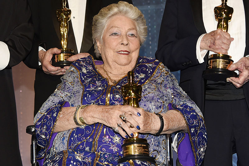 FILE PHOTO:  Anne V. Coates appears at the 2016 Governors Awards in Los Angeles. Coates,on November 12 ,2016. Photo:Associated Press