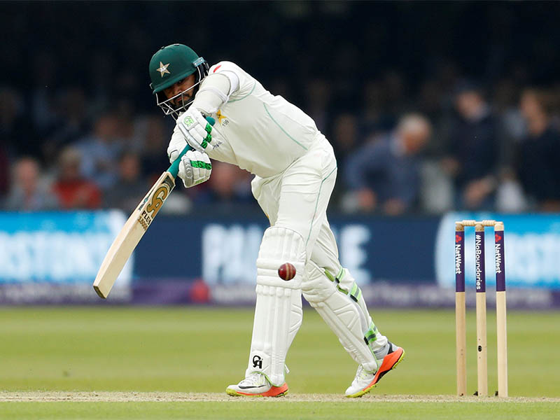 Pakistan's Azhar Ali in action. Photo: Reuters