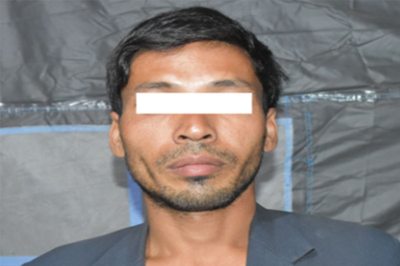 The murder suspect Dan Bahadur Chettri. Courtesy: MCD