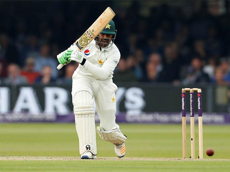 Pakistan's Haris Sohail in action. Photo: Reuters