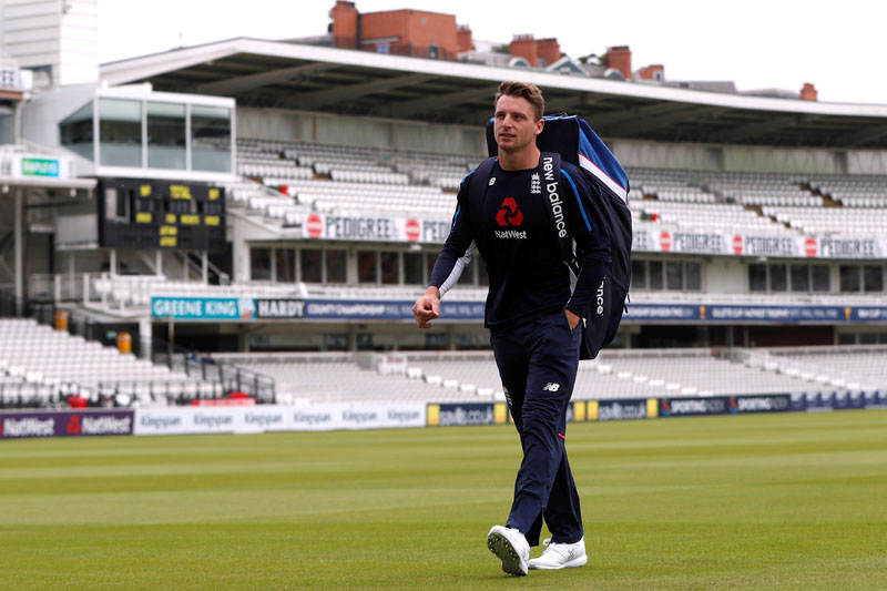 England's Jos Buttler during nets session, at the Lord's Cricket Ground, London, Britain, on May 21, 2018. Photo: Reuters