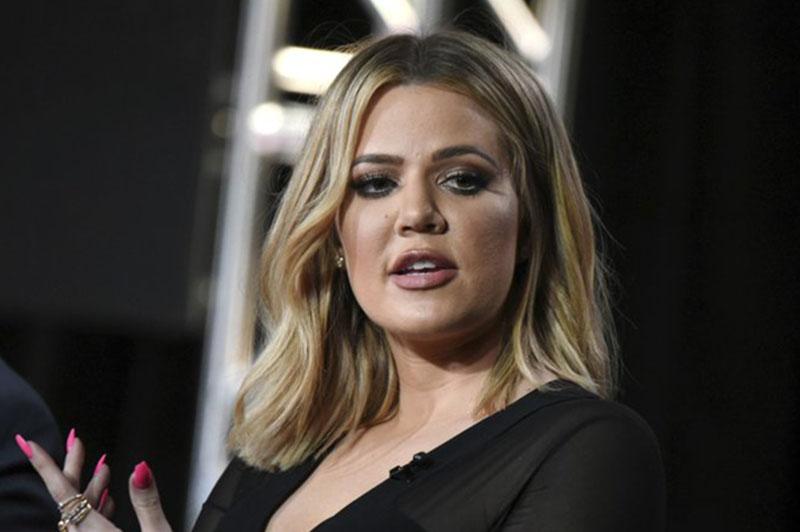File photo of Khloe Kardashian. Courtesy: AP