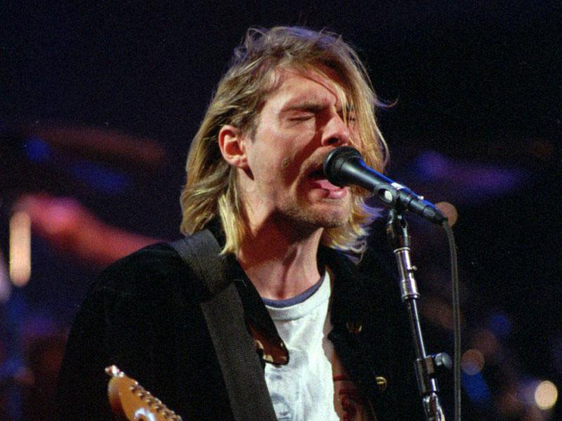 File image of Kurt Cobain. Courtesy: AP