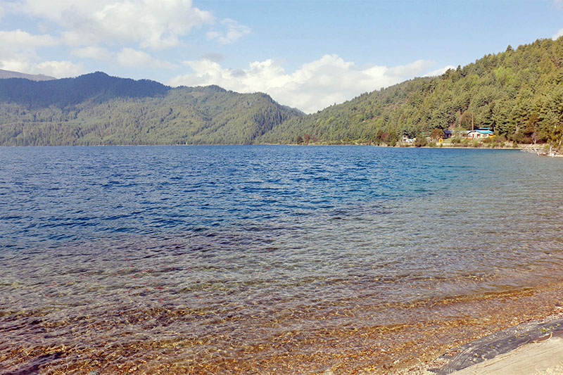 A view of Rara Lake in Mugu district, as captured on Thursday, May 24, 2018. Photo: RSS