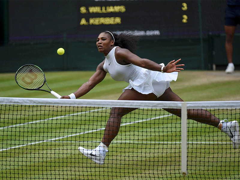 FILE PHOTO: USA's Serena Williams in action. Photo: Reuters