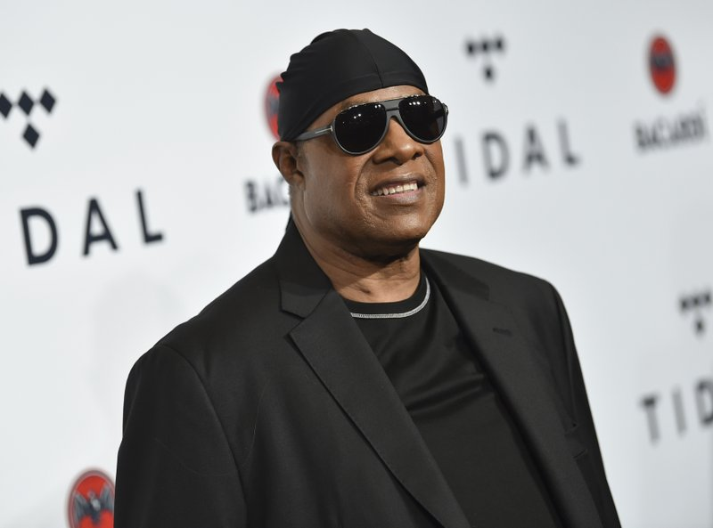 File - In this photo, Stevie Wonder attends the TIDAL X: Brooklyn 3rd Annual Benefit Concert in New York on  Oct. 17, 2017. Photo: AP