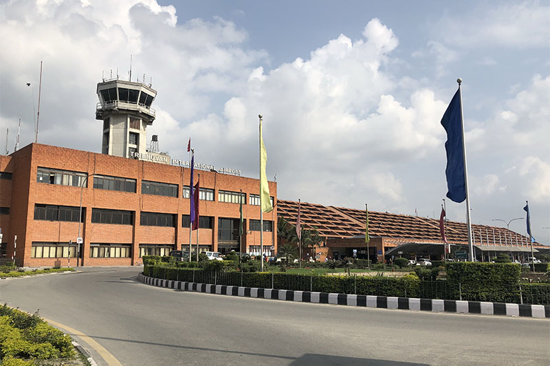 FILE - A view of the Tribhuvan International Airport (TIA), in Kathmandu, on Saturday, May 19, 2018. Photo: Mausam Shah Nepali