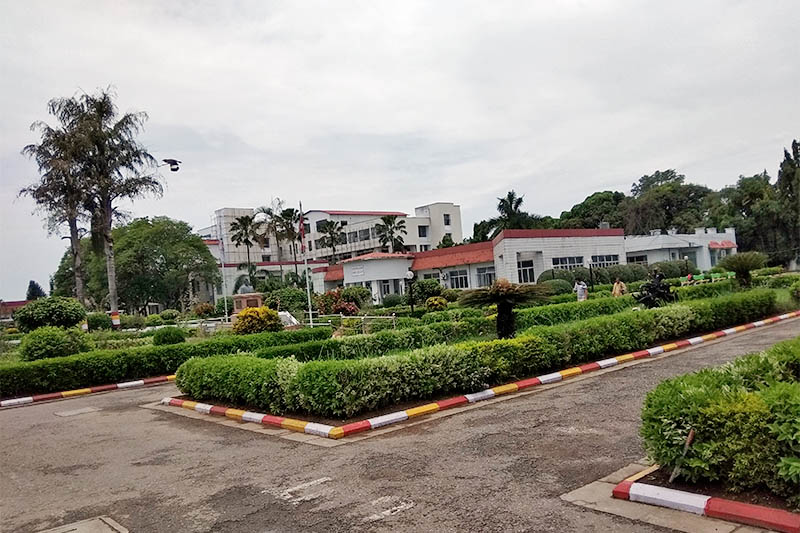 A view of BP Koirala Memorial Cancer Hospital in Bharatpur of Chitwan district, on Tuesday, June 05, 2018. Photo: Tilak Ram Rimal