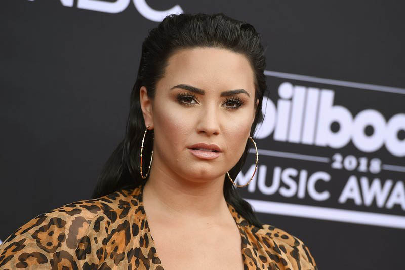 File: Demi Lovato. Photo: AP