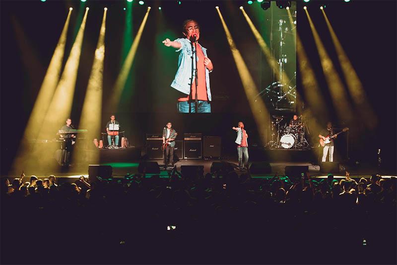 Nepathya live in concert in Dallas. Courtesy: Anlesh Dangol