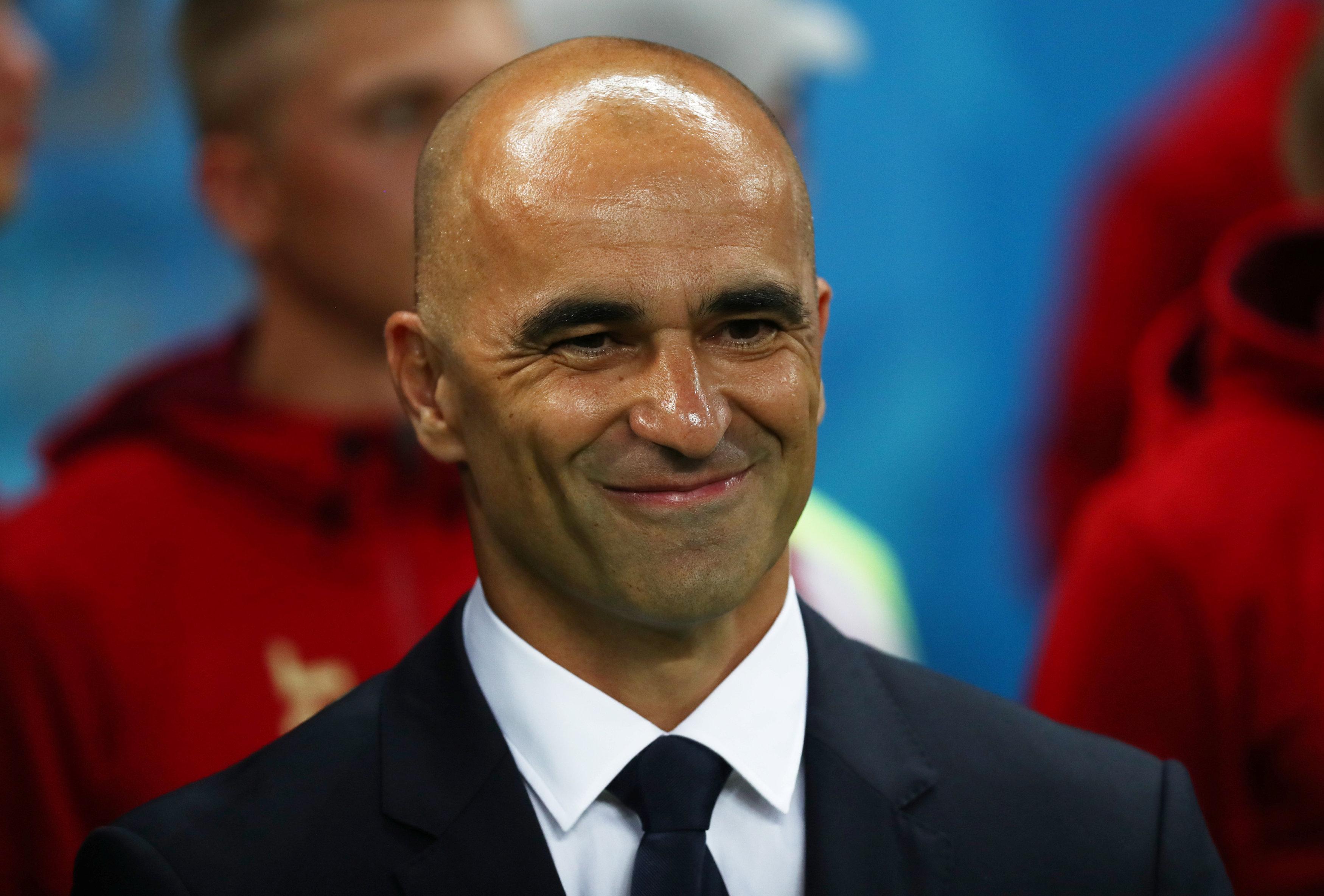 Soccer Football - World Cup - Quarter Final - Brazil vs Belgium - Kazan Arena, Kazan, Russia - July 6, 2018  Belgium coach Roberto Martinez before the match. Photo: REUTERS