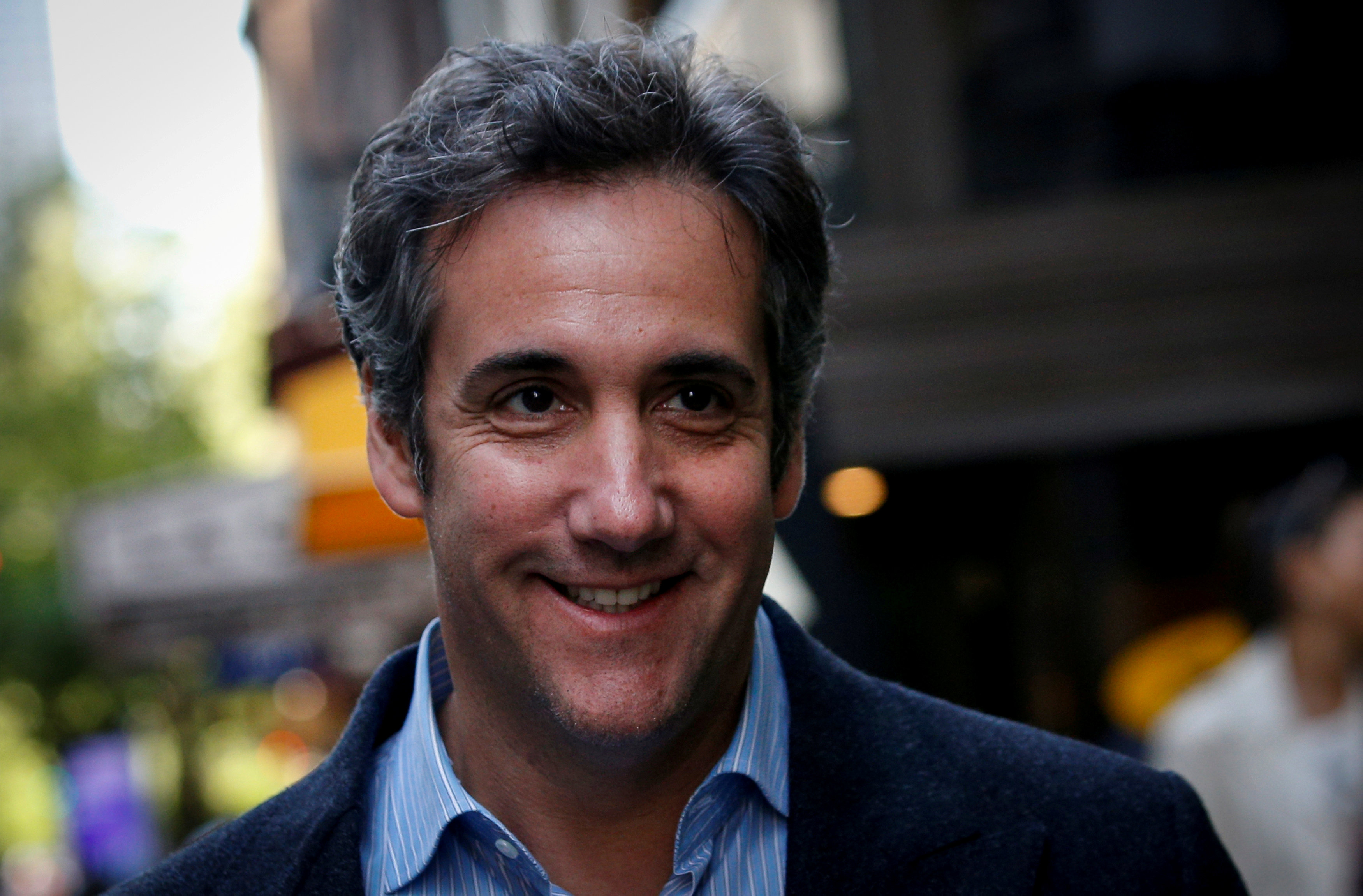 FILE PHOTO: U.S. President Donald Trump's personal lawyer Michael Cohen arrives at his hotel in New York City, U.S., May 11, 2018. Photo: REUTERS