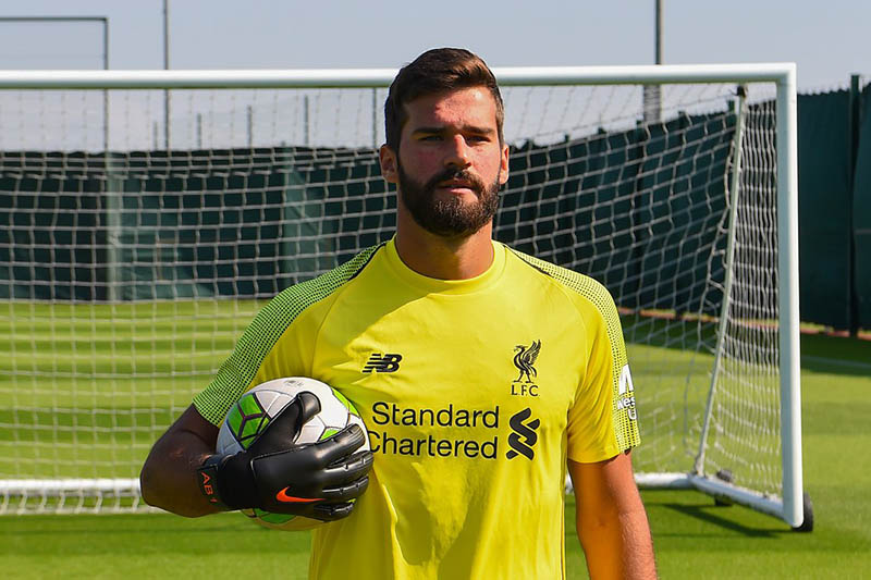 Liverpool FC signs Brazilian goalkeeper Alisson Becker. Courtesy: Liverpool/Twitter