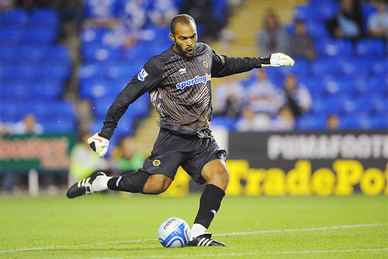 File: Carl Ikeme of Wolverhampton Wanderers in action. Photo: Reuters