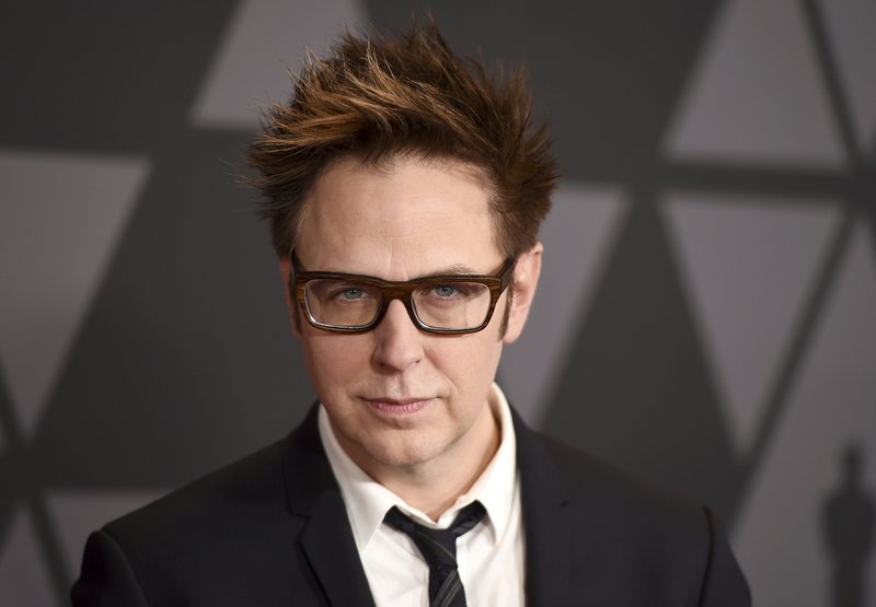FILE - In this photo, filmmaker James Gunn arrives at the 9th annual Governors Awards in Los Angeles on Nov. 11, 2017. Photo: AP