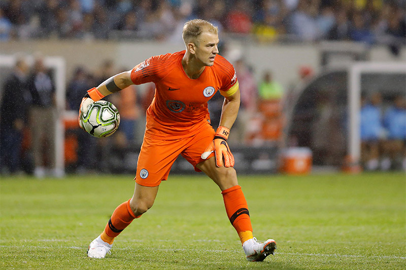 Manchester City's Joe Hart in action. Photo: Reuters