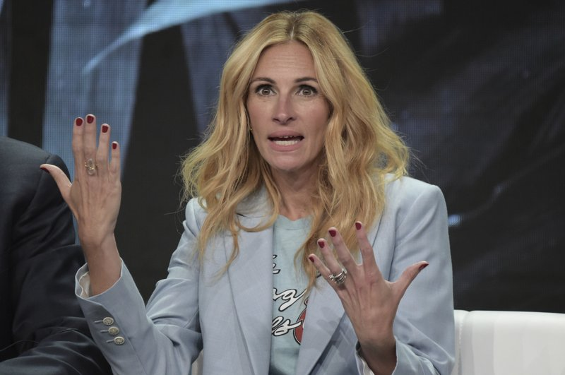 Julia Roberts participates in the u201cHomecomingu201d panel during the TCA Summer Press Tour on Saturday, July 28, 2018, in Beverly Hills, Calif. Photo: AP