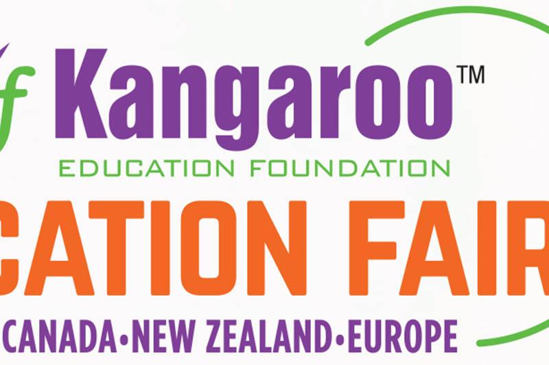 Logo of Kangaroo Education Fair. Courtesy: Kef