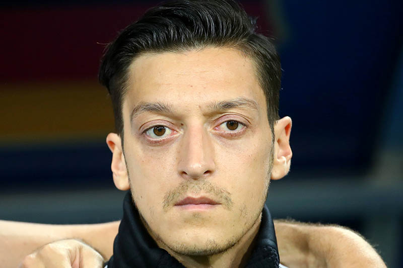 Germany's Mesut Ozil before the match. Photo: Reuters
