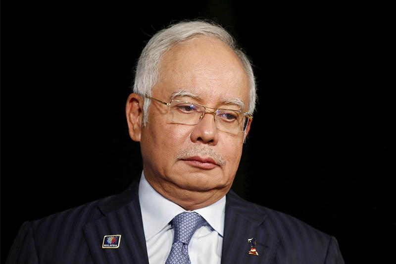 FILE PHOTO Malaysia's Prime Minister Najib Razak attends the Khazanah Megatrends Forum in Kuala Lumpur, Malaysia, October 6, 2015. Courtesy: Reuters