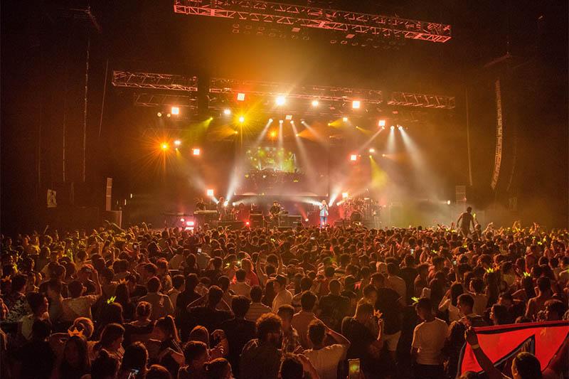 Nepathya performing live in Tokyo. Photo: Anish Adhikari