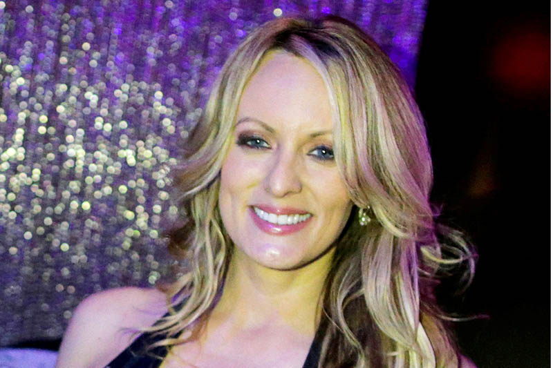 FILE PHOTO: Adult-film actress Stephanie Clifford, also known as Stormy Daniels. Photo: Reuters