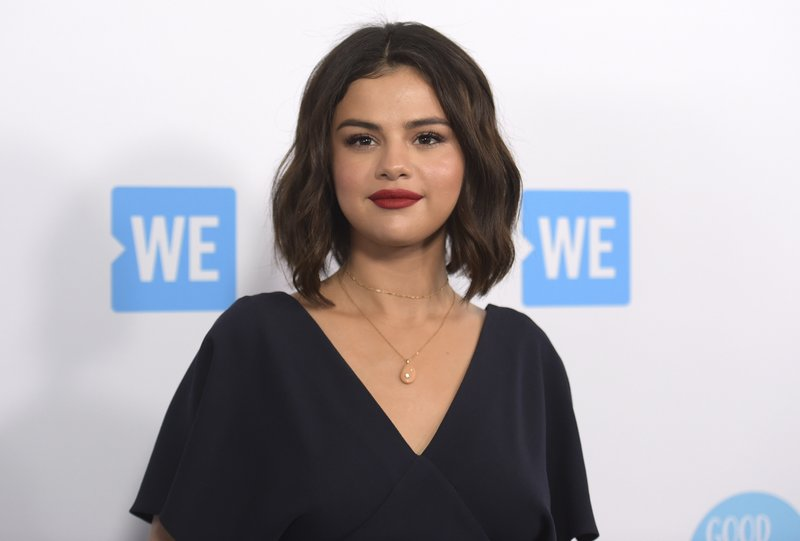 File - In this photo, Selena Gomez arrives at WE Day California in Inglewood, Calif on  April 19, 2018. Photo: AP