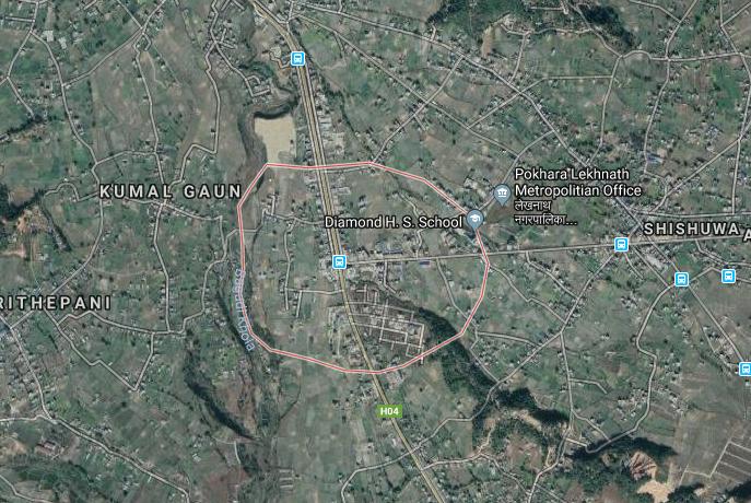 Pokhara Talchok: Google maps