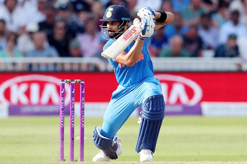 India's Virat Kohli in action. Photo: Reuters