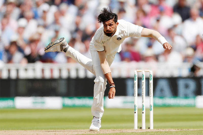 India's Ishant Sharma in action. Photo: Reuters
