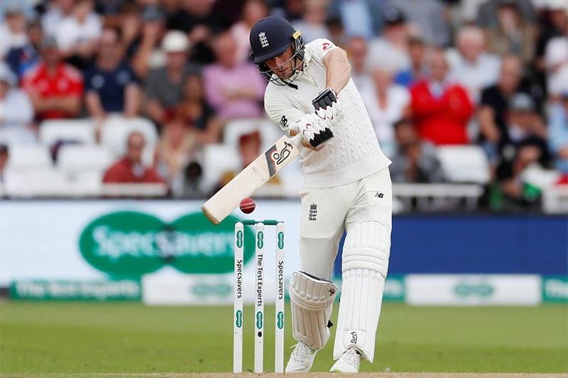 England's Jos Buttler in action batting. Photo: Reuters