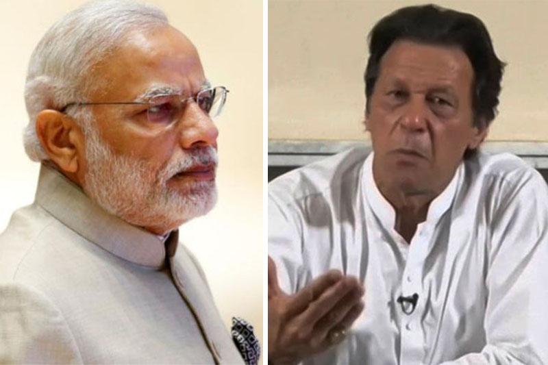 FILE: India Prime Minister Narendra Modi (left) and Pakistan newly elected PM Imran Khan. Photos: Reuters