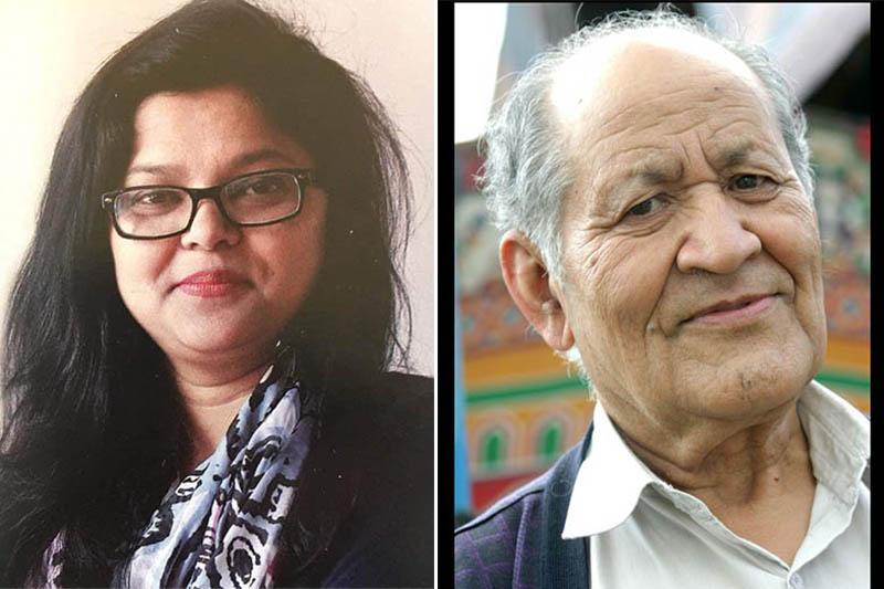 File: Nilam Karki Niharika (left) and Shanta Das Manandhar. Courtesy: Facebook/ Karki/Manandhar