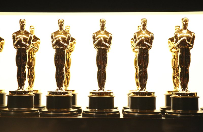 FILE - In this photo, Oscar statuettes appear backstage at the Oscars in Los Angeles on Feb. 26, 2017. Photo: AP