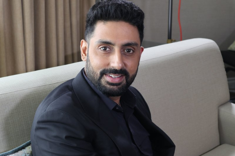 This  shows Bollywood actor Abhishek Bachchan during the Toronto Film Festival in Toronto, Canada on Sept. 11, 2018. Photo: AP