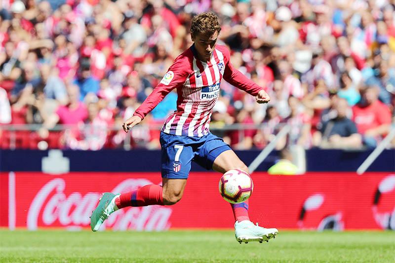 Atletico Madrid's Antoine Griezmann in action. Photo: Reuters