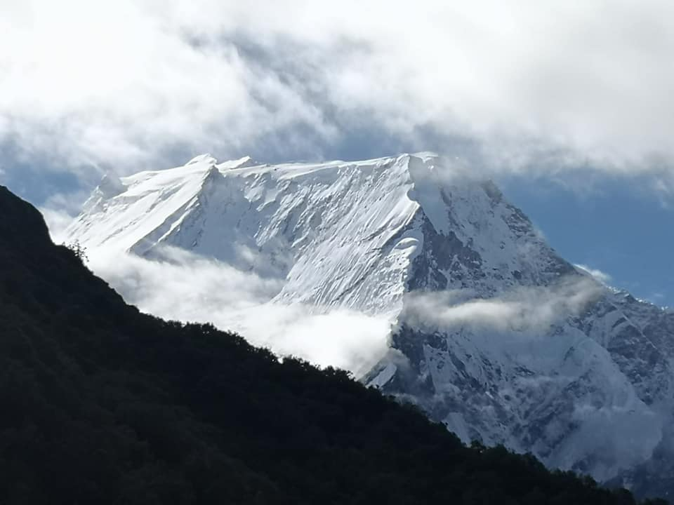 An undated image of Mount Manaslu. Photo: Arnold Coster