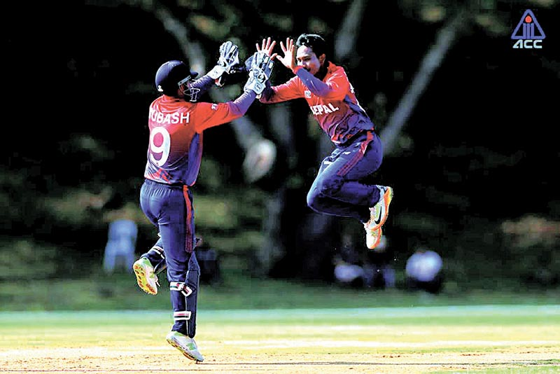 Nepal, cricket, Asia Cup Qualifiers