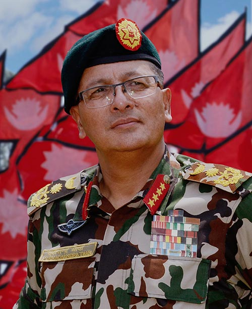 Chief of Army Staff General Purna Chandra Thapa. Photo Courtesy: Nepalarmy.mil.np